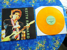 KEITH RICHARD ♫ INTERVIEW 1983  ♫ RARE QUALITY ORANGE WAX RECORDS #11A