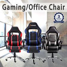 ZENEZ Chefsessel Gaming Stuhl Bürostuhl Schreibtischstuhl Drehstuhl Sportsitz