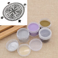 Metallic Embossing Powder Stamp Accessories DIY Craft Scrapbooking Decoration