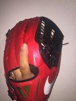 NIKE VAP0R V360 HYPERFUSE MEN'S BASEBALL GLOVE RIGHT-HAND THROW RED 12.75