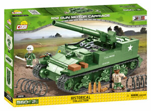 Cobi 2531 - M12 Gun Motor Carriage (560pcs) - Building Blocks - US Army - WWII
