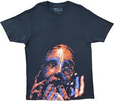 New Men's Slipknot Big Face Heavy Metal Band Throwback Classic Black T-Shirt Tee