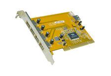 EXSYS EX-1074 - PCI Karte USB 2.0, 4+1 Ports, PCI Controller (VIA Chip-Set)