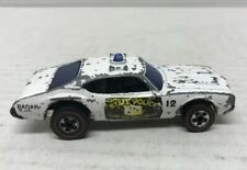 Vintage 1969 Hot Wheels Redline Olds 442 STATE POLICE CRUISER Redlines Diecast