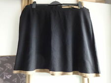 George Knee Length Polyester Plus Size Skirts for Women