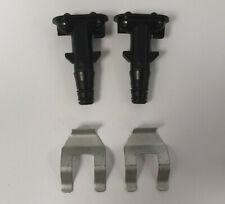 Genuine Range Rover L322 RH & LH Headlight Washer Jets & FREE CLIPS