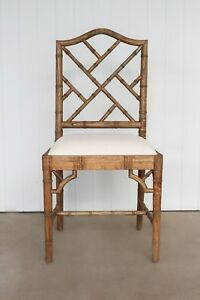 Weathered Oak Chippendale Dining Chair - HAMPTONS - Caribbean