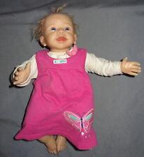 Ashton Drake Linda Murray Adg Lifelike Doll 17� Inch Weighted Body She Giggles