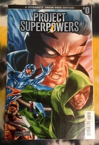 PROJECT SUPERPOWERS #0 (1:50 Jones Variant) - Dynamite Entertainment - N Mint