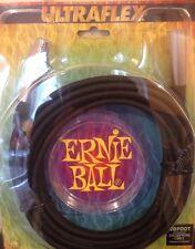 Ernie Ball 20ft Microphone Lead / Cable Female To Male XLR 3 Pin - Ultraflex New