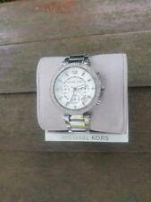 Damen Armband Uhr Michael Kors Mk 5353 Parker Silber Chronohraph