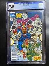 Spider-Man #20 CGC 9.0 (1992) RARE Newsstand Edition - Hulk, Nova, Deathlok app