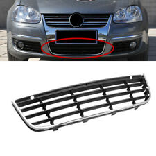 Fit For VW Jetta MK5 2005-2009 Front Bumper Lower Center Grille Chrome Grill