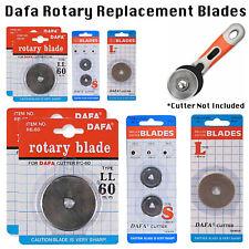 DAFA Craft Fabric Rotary Cutter Olfa Spare Blade Replacement Fiskars 28/45/60mm