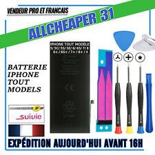BATTERIE POUR IPHONE 6 6S 7 5S 5SE 5C 5 7 PLUS 8 8 PLUS 4S 4 NEUVES 0 CYCLES
