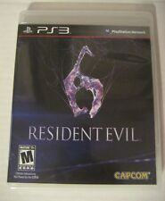 Resident Evil 6 (Sony PlayStation 3, 2012) Excellent Condition!!!