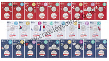 More details for 🔥 uncirculated packs 2018 uk 10p a-z alphabet coins angel bond nhs cheap
