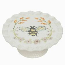 Honey Bee Tray Stand Ceramic