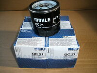 CLASSIC MINI SPIN ON OIL FILTER MAHLE OC21   ( UNIPART  GFE443 ) PACK OF 4