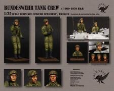 1/35 Maßstab Harz Modell Satz Bundeswehr Panzerbesatzung 1950 60 Era