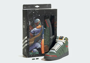 Adidas Top Ten Hi Star Wars Boba Fett Green  FZ3465 Fashion