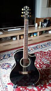 Crafter GAE8-BK Westerngitarre mit Tonabnehmer Akustische