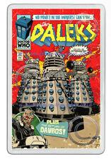 DR WHO DALEKS COMIC FRONT COVER ARTWORK NEW JUMBO FRIDGE LOCKER MAGNET