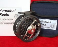 HENSCHEL DUAL MODE # 3, 9 -10, saltwater fly reel = Anti Reverse + Direct Drive