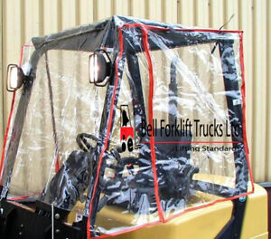 Forklift Rain Covers, PVC Cabs, Pallet Trucks, Forklift Tyres supplied & fitted