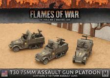 Flames of War - American: T30 75mm Assualt Gun Platoon UBX63