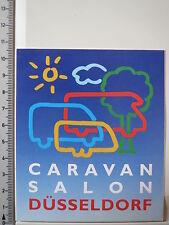 Pegatina Sticker Caravan Salon Düsseldorf (3800)