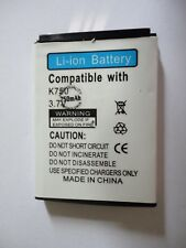 SONY ERICSSON- batteria COMPATIBILE-BST37-D750-J100-110-120-220-230-K200-205-