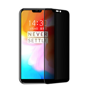 Anti-Spy Privacy Tempered Glass Film Screen Protector For Oneplus 6 Oneplus6 1+6
