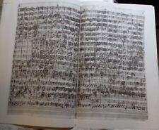 Ungebundene antiquarische Bücher als Faksimile