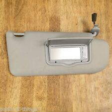 2003-2008 Mazda 6 OEM RH (passenger side) Lighted Mirror Sunvisor  (grey / gray)