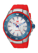 wachawant: TechnoMarine TM215090 Sea Manta Automatic 48mm Blue Bezel Men's Watch