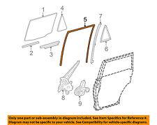 TOYOTA OEM 10-16 4Runner Window Glass-Rear Door-Run Channel Left 6815235050