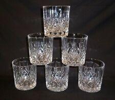 Boxed Set of Six Thomas Webb 'Romeo'  Whisky Tumblers