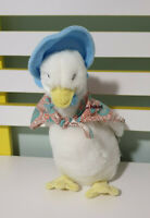 JEMIMA PUDDLE DUCK PLUSH TOY MARKS AND SPENCER CHARACTER TOY 28CM BEATRIX POTTER