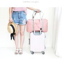 Waterproof Folding Travel Storage Bag Large Capacity Luggage Packing Tote Bag G