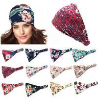 Fashion Wide Headband Elastic Bandana Turban Hair Band Sport Yoga Fitness Need