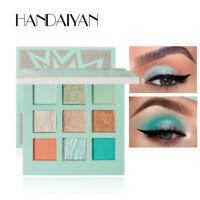 9Colors Shimmer Diamond Eyeshadow Eye Shadow Palette Makeup Cosmetic Eyeshadow R