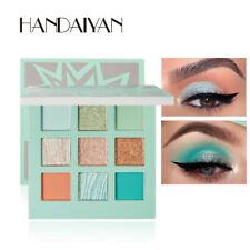 HANDAIYAN Pearlescent Matte 9-Color Eyeshadow Palette Fine Powder HOT!!!
