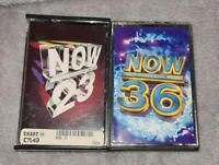 NOW 23 & 36 BUNDLE. Now That's What I Call Music Double Cassette 79 Hits