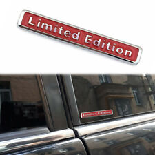 1pcs Metal 3D Limited Edition Auto Car Sticker Badge Emblem Decal Accessories