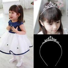 Kids Flower Girl Children Wedding Prom Tiara Crown Headband - Kid Size EY