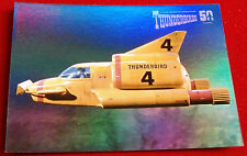 THUNDERBIRDS 50 YEARS - FOIL CHASE CARD - F8 - THUNDERBIRD 4 - Unstoppable Cards