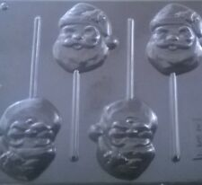 SANTA  / FATHER CHRISTMAS CHOCOLATE, LOLLIPOP MOULD, SOAP, CLAY, MOULDS