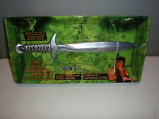 The Lord Of The Rings Fellowship Electronic Light N Sound Sting Sword New NIB