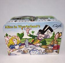 Alice in Wonderland Cafe Tea Set for 2 w/ Case Mini Ceramic Artist Paul Cardew